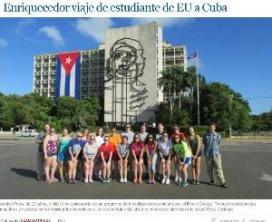 Jordyn Perry visita Cuba