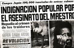 asesinato a maestro Conrado Benitez