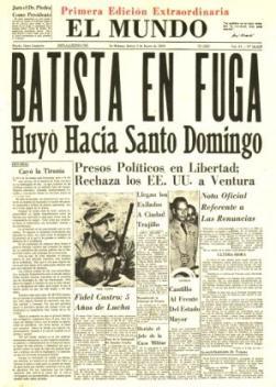 Batista huyó