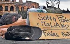 pobreza en italia